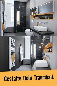 Dein modernes Komplettbad mit Spa-Atmosphäre. Hier kannst Du Dich wohlfühlen. Zum Traumbad Berlin, hier entlang. Wc Sitz, Berlin, Bathtub, Cabinet, Bathroom, Storage, Spa, Furniture, Home Decor