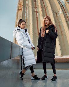 Black Pink Yes Please – BlackPink, the greatest Kpop girl group ever! Blackpink Fashion, Korean Fashion, South Korean Girls, Korean Girl Groups, Blackpink Debut, Rose Adidas, Blackpink Members, Black Pink Kpop, Blackpink Photos