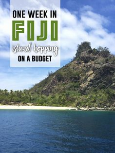 One Week in Fiji: Island Hopping on a Budget One Week in Fiji: Island Hopping on a Budget One Week in Fiji: Island Hopping on a Budget – Nicole the Nomad<br> Close your eyes and imagine floating through crystal clear, strikingly blue water up to an Travel To Fiji, Hawaii Travel, Kauai Hawaii, Budget Travel, Asia Travel, Lanai Island, Island Beach, Tonga, Beach Photography Friends