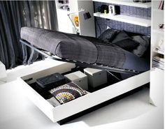 Hydraulic Storage Bed by BoConcept [SOURCE]