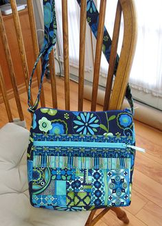 Purse Pattern Crossbody Bag Sewing PDF Tutorial by MyFunnyBuddy $9.00 for PDF pattern on Etsy