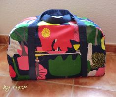 BOLSO DE VIAJE DIY {TRAVEL BAG}