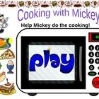 Help Mickey do the cooking. Click the food word required, then the numbers on the oven to set the time and finally ´ON´ and watch the food cook ins...