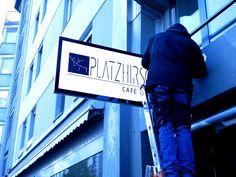 Ideal Platzhirsch LED Schild in Luzern Stechschild Leuchtreklame Leuchtwerbung f r Firmenbeschriftungen Bars oder Restaurant mit LED Beleuchtung