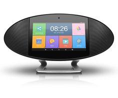 rogeriodemetrio.com: WiFi Internet Radio Media Player Touchscreen