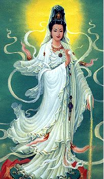 Female Buddha images | She who hears the cries of the world.