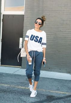 Sporty casual outfit-Fashion guide for spring summer outfits – Just Trendy Girls