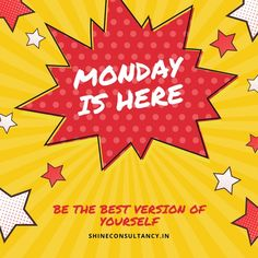 Time to give your best performance, after all its Monday Morning.  #visitus at #website: http://shineconsultancy.in/  You can also #callus on 022-28928911/22/33  #shinecosultancy #studyabroad #overseas #education #sweet #day  #goodmorning #Morningmotivation #Mondaymorning #riseandshine