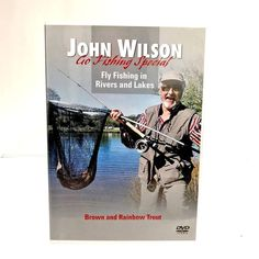 John Wilson Go Fishing Special Fly Fishing In Rivers & Lakes Brown Rainbow trout Dvds For Sale, Rainbow Trout, Rivers, Fly Fishing, Lakes, Fine Art, Brown, Culture, Amp