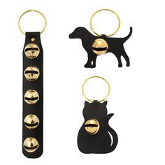 Leather door bells - great for dog training