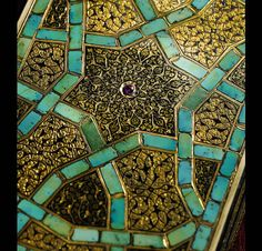 Ottoman-Ivory-and-Turquoise-Inlaid-Box