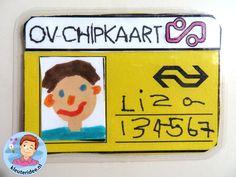 OV-chipkaartvoor kleuters, thema de trein, kleuteridee, met gratis download