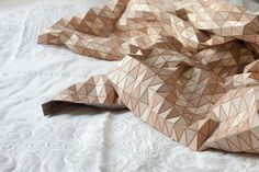 Wooden Textiles : Beautiful Innovation by Designer Elisa Strozyk