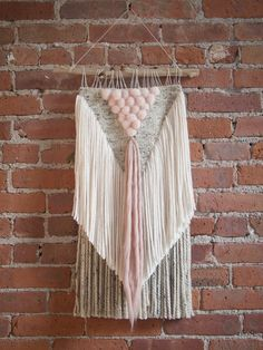 Handmade Woven Wall Art - The Valerie - READY TO SHIP by TheUrbanLoomShop on Etsy