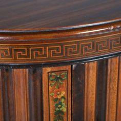 Klasszicista angol antik bútor, adam stílusú asztal