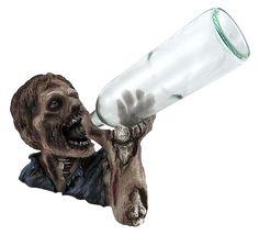 zombie bottle holder Halloween decors