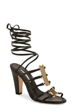 Manolo Blahnik 'Statyra' Sandal (Women) available at #Nordstrom