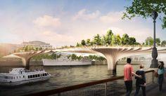 Thomas Heatherwick Designs 'Garden Bridge' in London