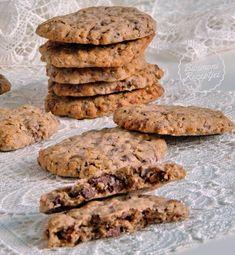 Bibimoni Receptjei: Csokoládés,kávés zabpelyhes kekszek Cookies, Chocolate, Desserts, Food, Crack Crackers, Tailgate Desserts, Deserts, Chocolates, Eten