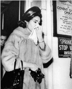 Maria Callas. Londres, 1964
