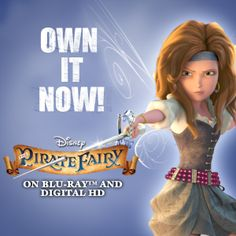 Go on an all-new adventure with Tinker Bell, Zarina and the rest of the Disney Fairies in The Pirate Fairy! Nowon Blu-ray and Digital HD!