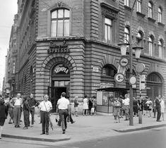 Ilyen is volt Budapest - József körút a Népszínház utcánál Budapest, Hungary, Street View, History, Beautiful, Archive, Historia