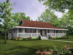 Lovely Eplans Farmhouse House Plan   Wraparound Porch To Capture Beautiful Views    1601 Square Feet And 3 Bedrooms From Eplans   House Plan Code HW. Ideas