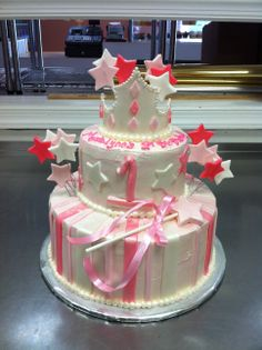 Princess first birthday cake.