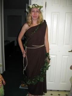 Mother Nature - last minute Halloween costume