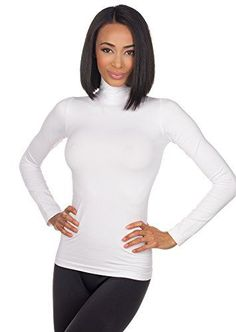 Sugarlips Seamless Turtleneck Top 205 WHITE ONE SIZE -- Check this awesome product by… - https://sorihe.com/fashion01/2018/03/01/sugarlips-seamless-turtleneck-top-205-white-one-size-check-this-awesome-product-by/