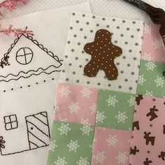 Two Gingerbread Village blocks are up on the blog for free.. grab them while you can!! . . . #gingerbreadvillagebom #gingerbreadhouse #freeembroidery #freeembroiderypattern #freeembroiderydesign #freebom #freeblockofthemonth #gingerbreadman  #Regram via @BvtaxnHneIh
