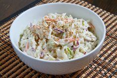 Sesame Ginger Coleslaw  - this would be awesome with some asian short ribs