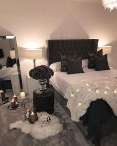 Room Ideas Bedroom, Cozy Bedroom, Home Decor Bedroom, Bedroom Rustic, Scandinavian Bedroom, Industrial Bedroom, Bedroom Plants, Bedroom Storage, Bedroom Bed