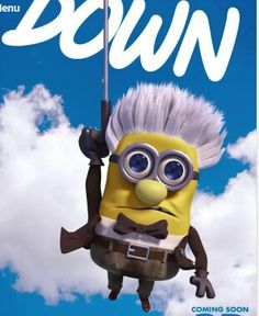 """I love, the Minions from the film series """"Despicable me"""", they never fail to make me smile much like these images of iconic characters redesigned as minions Amor Minions, Despicable Me 2 Minions, Cute Minions, Minion Movie, Minions Quotes, Minion Stuff, Minion Dress Up, Minion Humour, Kino Box"""