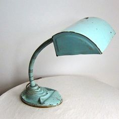 Art Deco industrial lamp