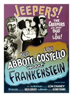 Abbott And Costello Meet Frankenstein, 1948 Posters at AllPosters.com