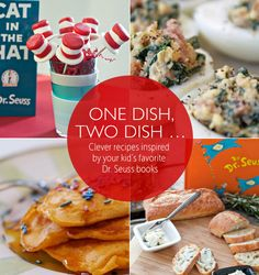 One Dish, Two Dish … Clever recipes inspired by your kid's favorite Dr. Seuss books | Babble