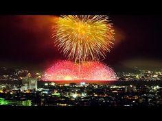 [ 4K Ultra HD ]諏訪湖祭湖上花火大会 2015 Lake Suwa-ko Fireworks Festival (Shot on RED EPIC) - YouTube