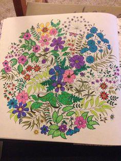 Secret Garden Johanna Basford Page 5 Frixion Ballpoint Pens