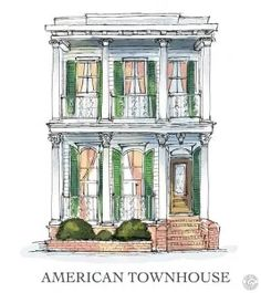 New Orleans Architecture Tour's Guide to New Orleans Houses! – New Orleans Architecture Tours Nova Orleans, New Orleans Homes, The Sims, Sims 4, Shotgun House Plans, New Orleans Architecture, Wooden Columns, Creole Cottage, Willow Creek