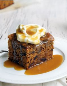 Sticky Date Pudding with Caramel Sauce - This is my Nan's recipe. It is just the best! - purplessgirl