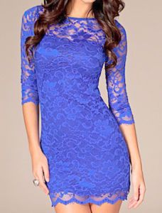 Another great lace dress that would do for my MOTB outfit. Would need to be a bit longer for me at my age but it is beautiful and I love the colour.