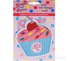 Sugar & Spice Cupcake Air Freshener