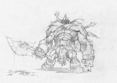 Dungeon Runner concept art Joe madureira
