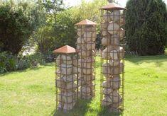 Stentårne - anderledes hegn og haveudsmykning