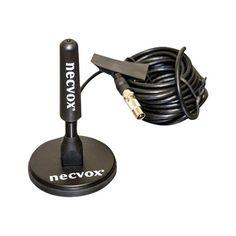 Necvox ANT-536 High Digital Aerial TV Magnetic Mount Roof Antenna, 96 dB, Black