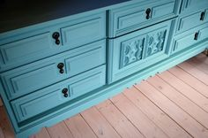 Use chalk-paint and wax to refinish furniture instead of sanding