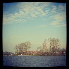Hanzeboog - Hattem - IJssel - Hoog Water