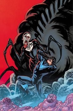 NIghtwing #5: Night of the Monster Men by Yanick Paquette, colours by Nathan Fairbairn *