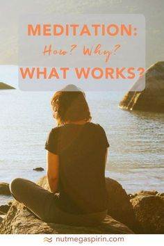 Meditation: How? What Works? Our founder, Mara, shares with us her story around how she learned to meditate. She works to meditation through self-love, trying to not judge how her meditation practice turns out, and to just accept what it is day-to-da Meditation For Anxiety, Power Of Meditation, Meditation Benefits, Daily Meditation, Chakra Meditation, Meditation Practices, Meditation Music, Mindfulness Meditation, Mindfulness Exercises
